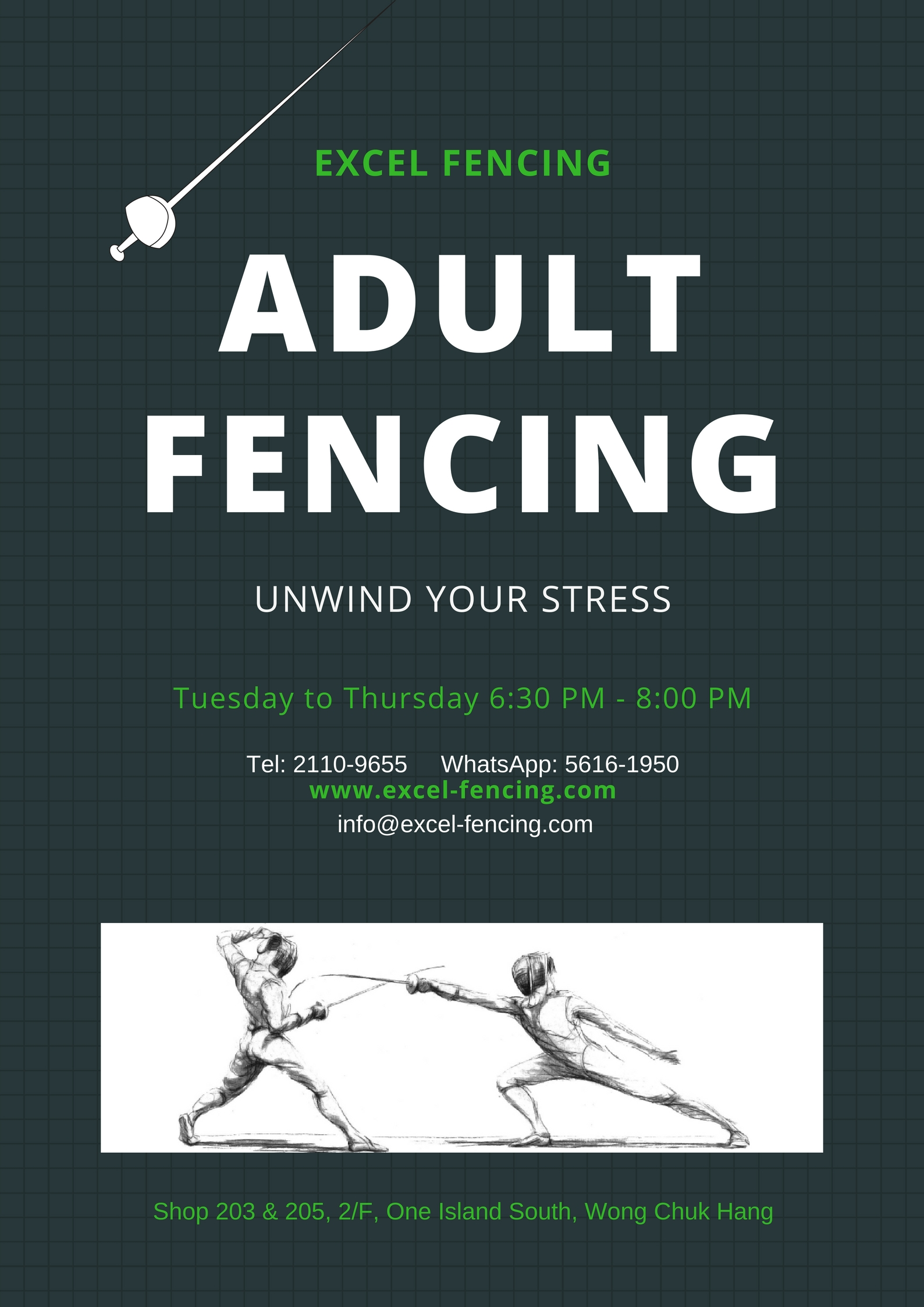 Adult Fencing 2018